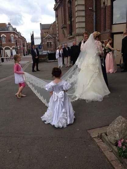 mes petites filles d'honneur encore des stars à mon mariage