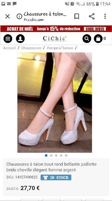 Laquelle préférez vous comme chaussure - 1