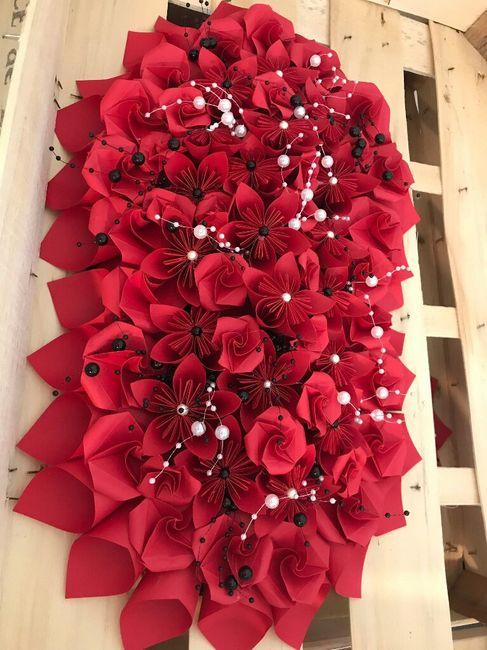 Fleurs table d'honneur - 1
