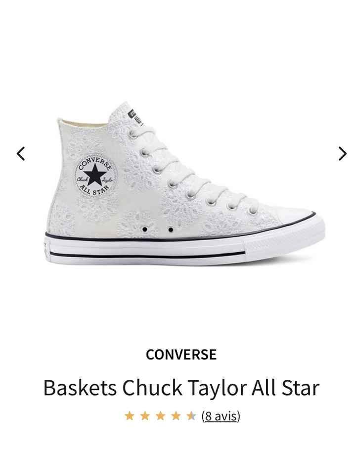 Baskets style Stan smith ou converse 3