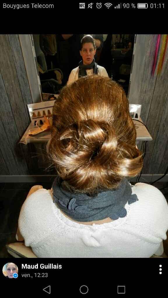 Essaie coiffure et maquillage - 2