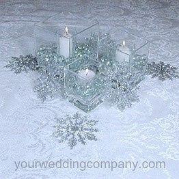 Calendrier de l avent 2014 j 22 mariages forum - Centre de table mariage hiver ...