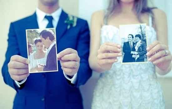 Photo originale (mariés et parents des mariés)