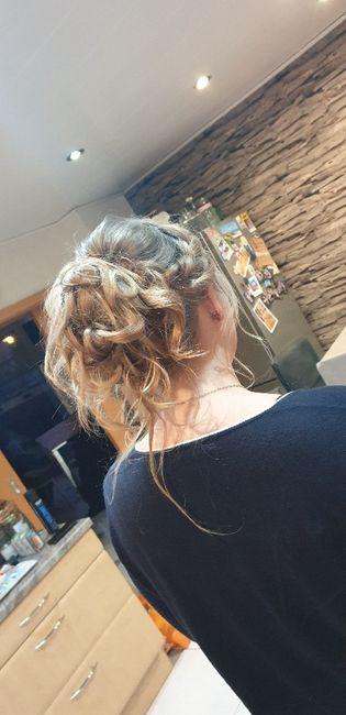 Essai coiffure et maquillage 2