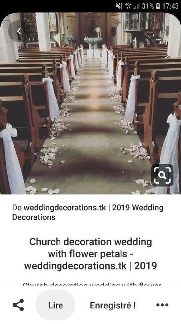 Sortie d église... pétales de fleurs artificielles avis ! 1