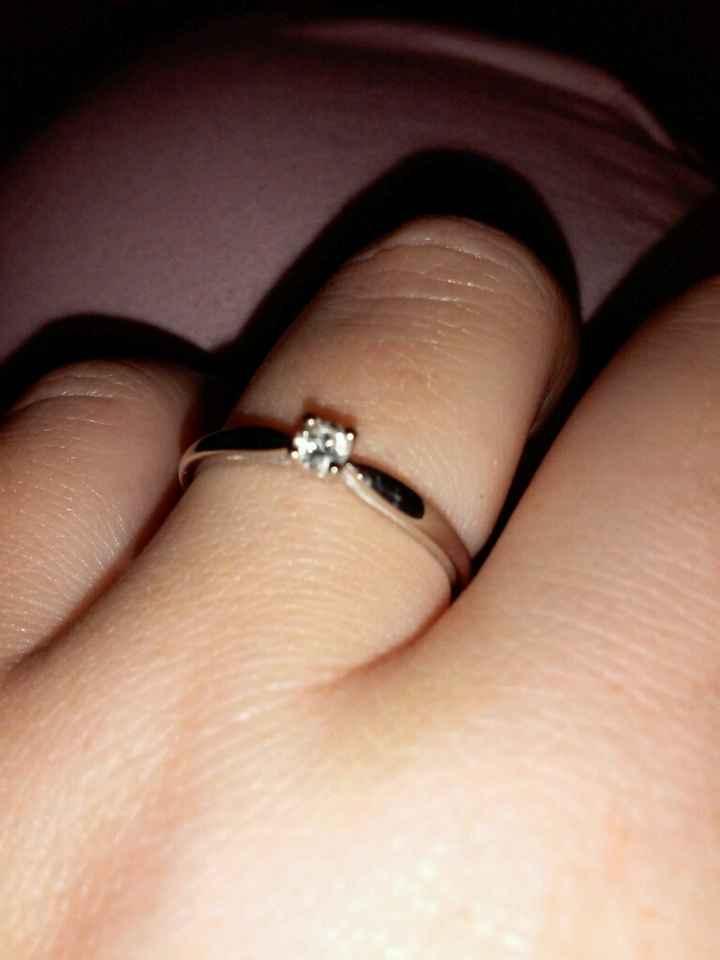 Ma bague de fiançailles - 2