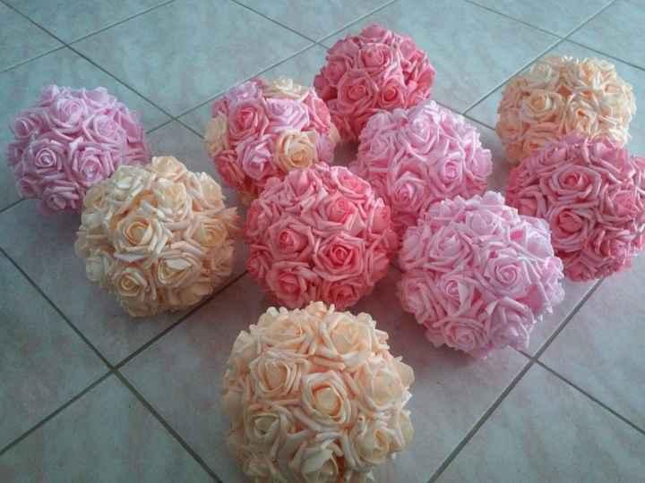 Boules de roses