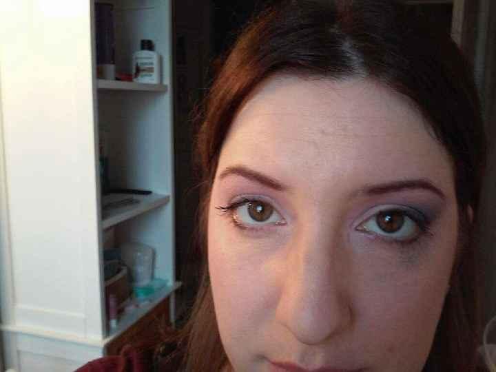 1er essai maquillage - 1