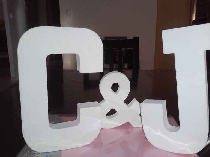 Lettres pour DIY