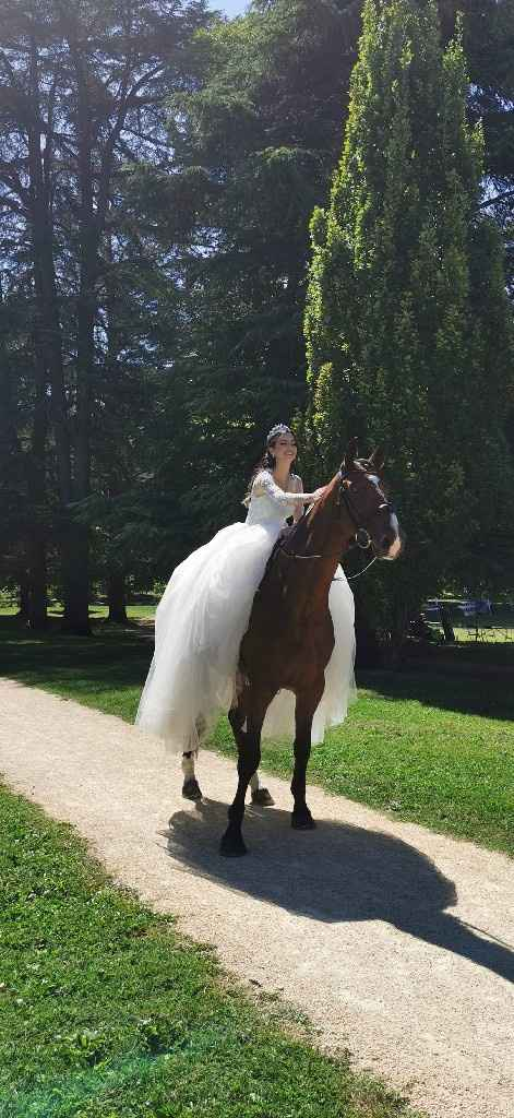 Mariee a cheval - 2