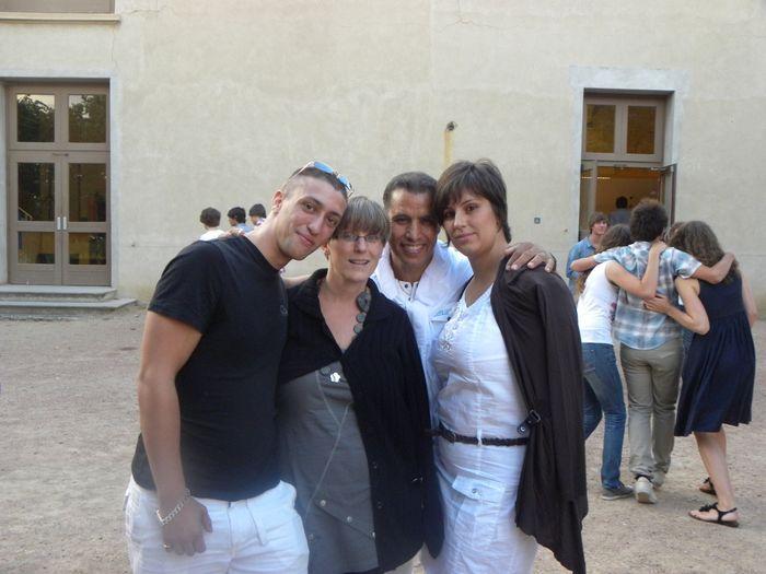 mes parents mon frère et moi