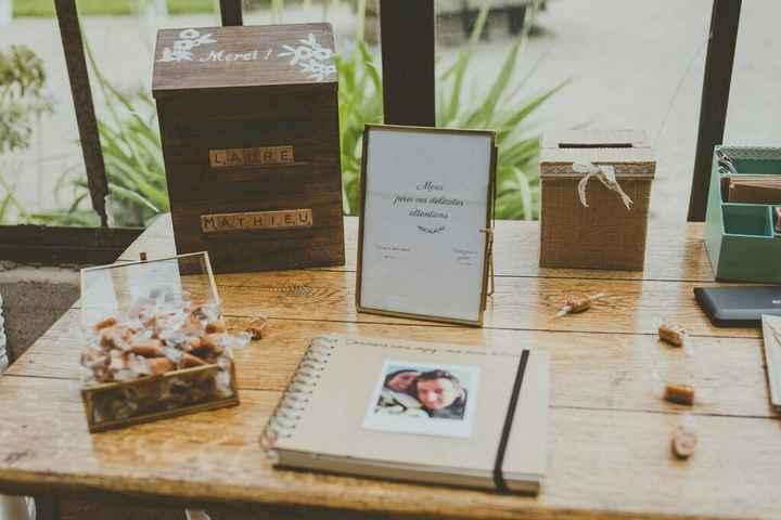 Vieille boîte aux lettres pour urne vintage - 1