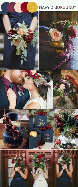 Nos couleurs pour notre mariage - 1