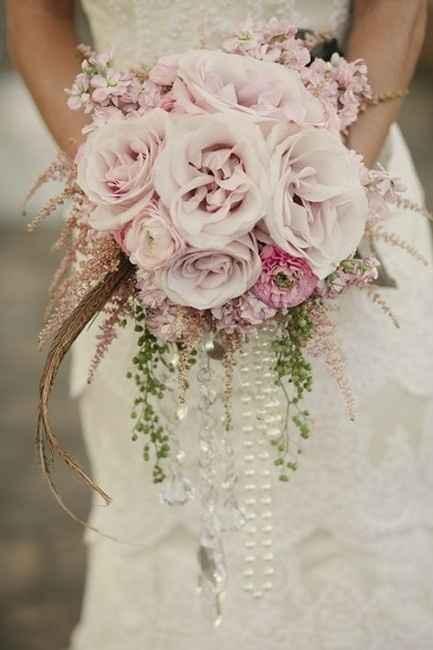 une touche de couleur avec le bouquet