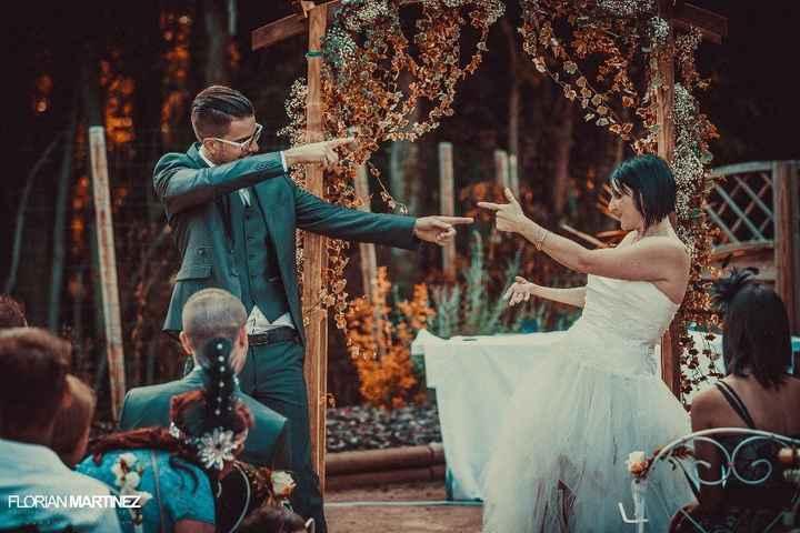 Photo de notre cérémonie