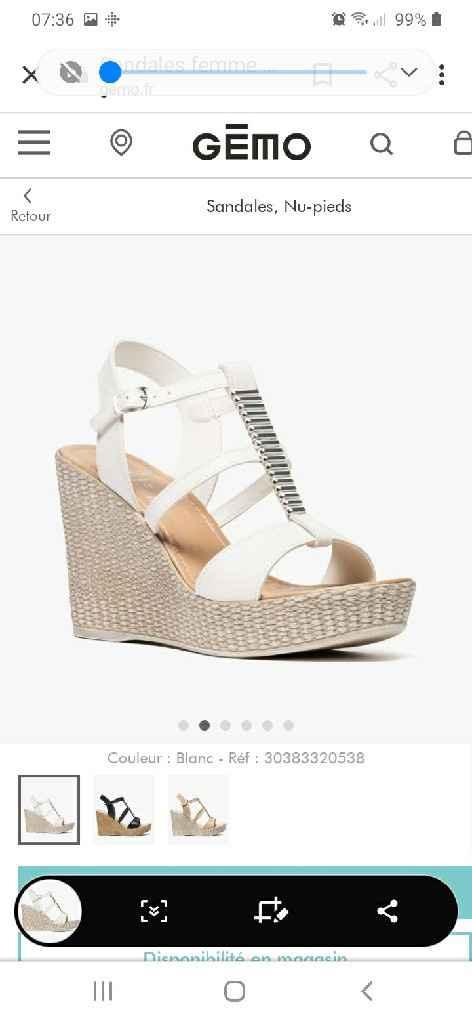 Chaussures compensées très confortables et élégantes - 1