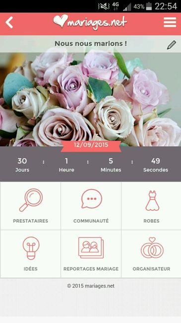 Compte rebours organisation du mariage forum - Compte a rebours mariage ...