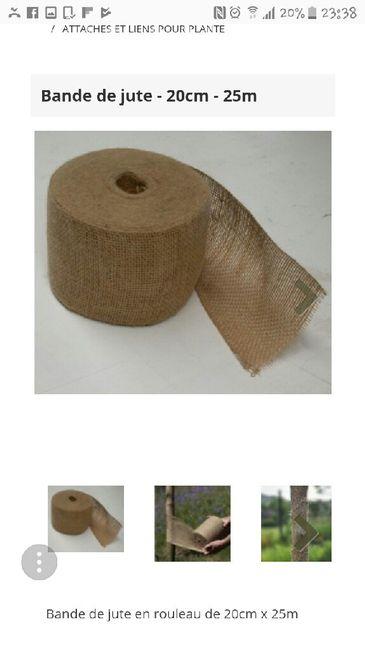 Noeud de chaises en toile de jute - (charentes-maritime) - 1