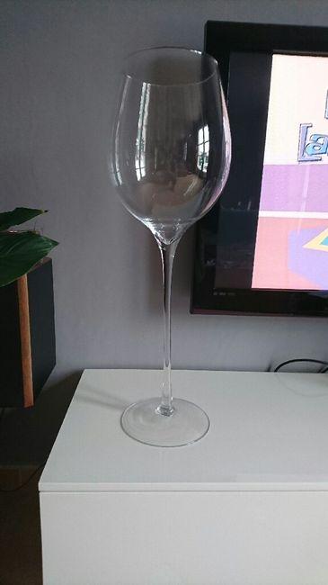 Id es de d co pour ce verre g ant d coration forum for Grand verre a pied pour decoration