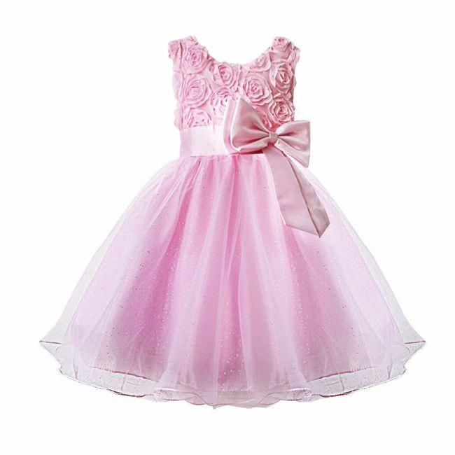 Robe pour les petites filles d 39 honneur photo for Petites robes pour les mariages