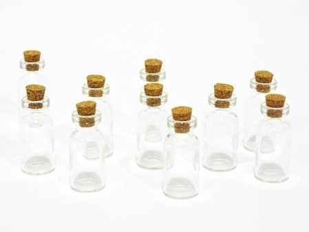 Site petite épicerie - fiole en verre