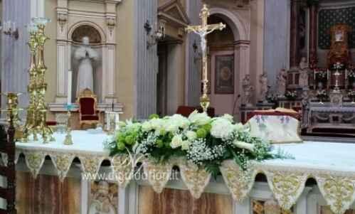 style composition autel mais plus sur toute la longueur (1,50 mt)