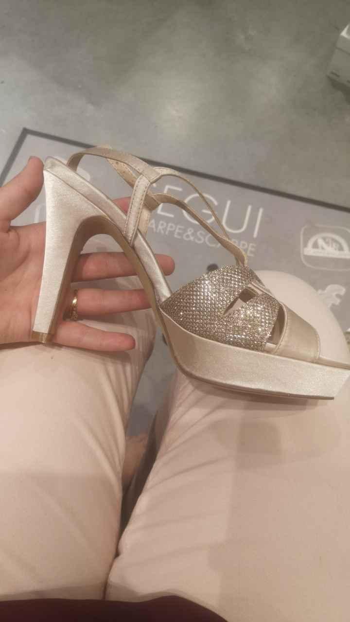 Avis !! Chaussures champagne & robe blanche, ça passe ? - 3