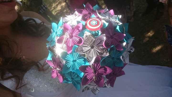 mon bouquet!