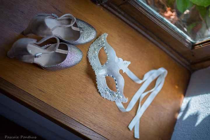 chaussures et masque