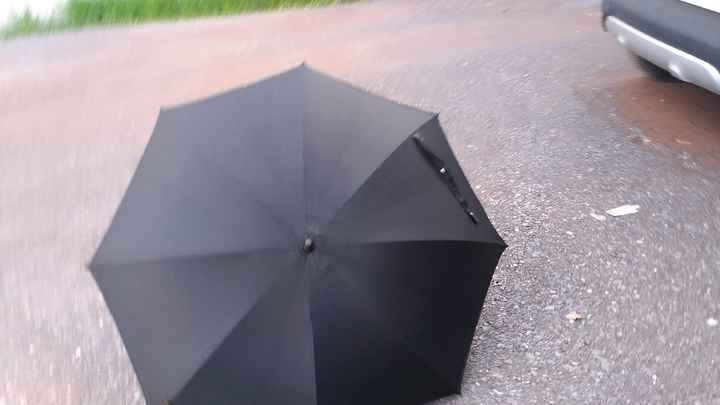Parapluie transparent Lidl - 1