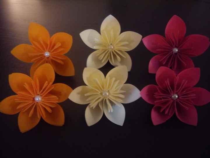 Fleur origami kusudama