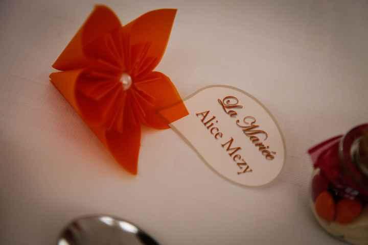 Marque place de la mariée