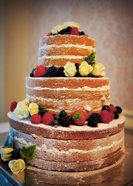 WEDDING CAKE CREME ET FRUIT