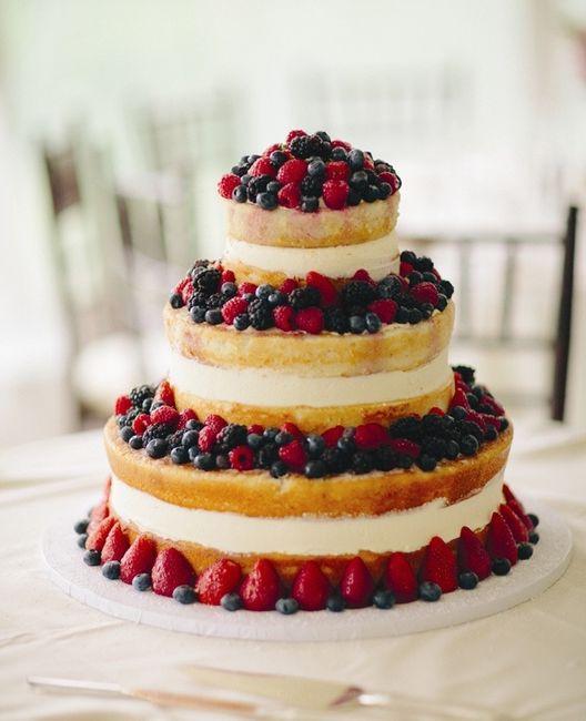 WEDDING CREME ET FRUIT DES BOIS