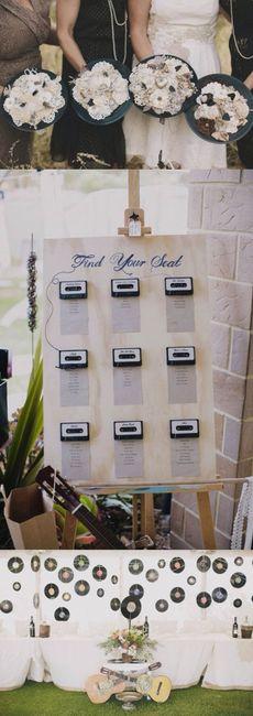 plan de table  thème musique