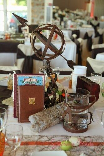 Mariage th me voyage d coration forum for Decoration voyage autour du monde
