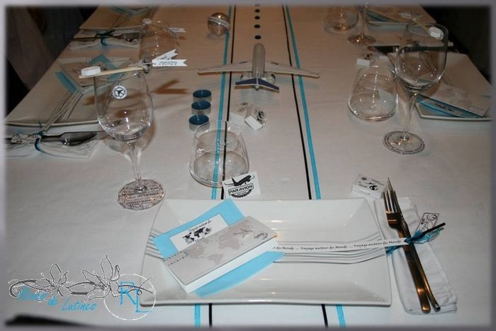 Mariage th me voyage d coration forum - Decoration table mariage theme voyage ...