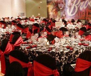 table thème cabaret