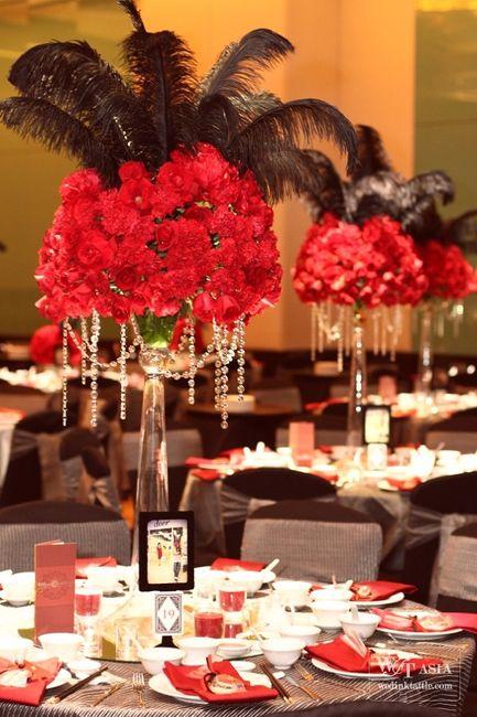 decoration mariage cabaret