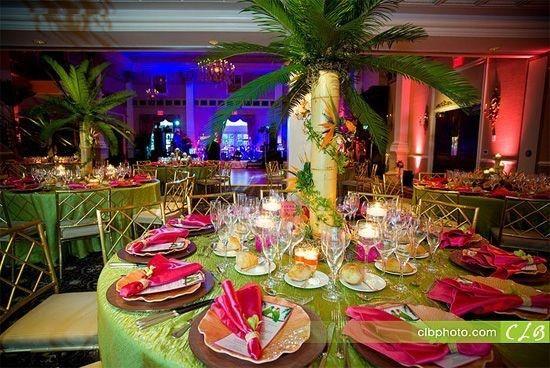 Mariage thème exotique décoration forum mariages