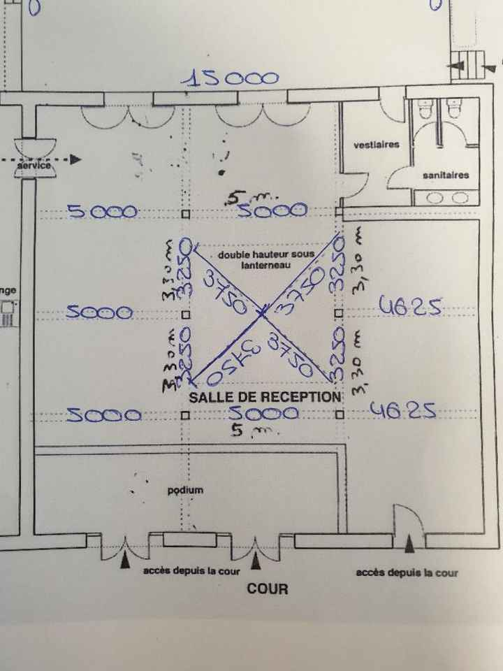 Plan salle