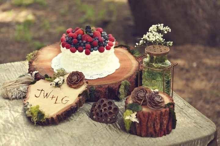 wedding cacke thème montagne