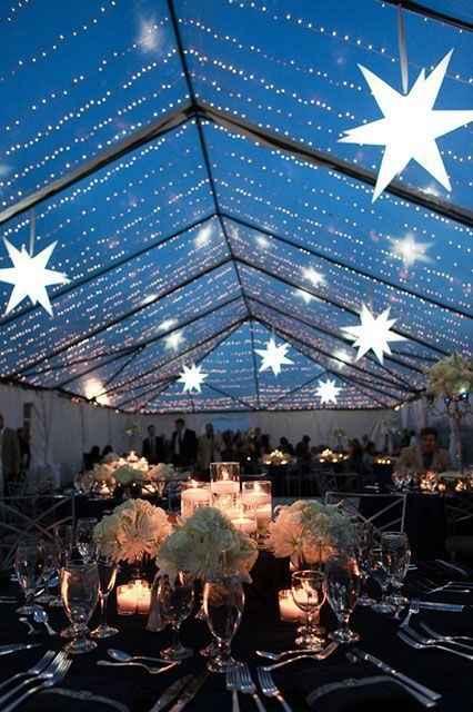 thème de mariage étoiles