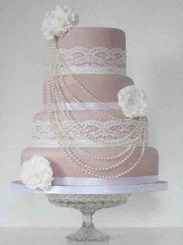 wedding cacke vintage