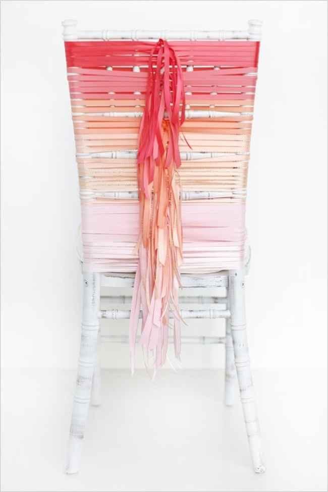 un décor de chaise