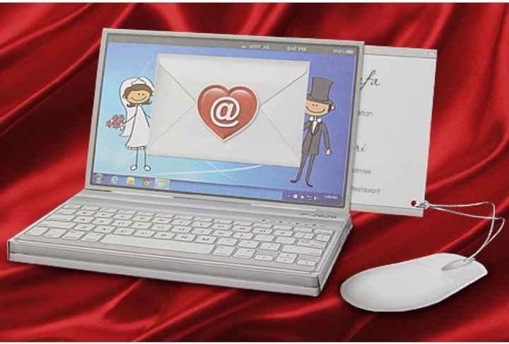 faire part mariage internet ordinateur