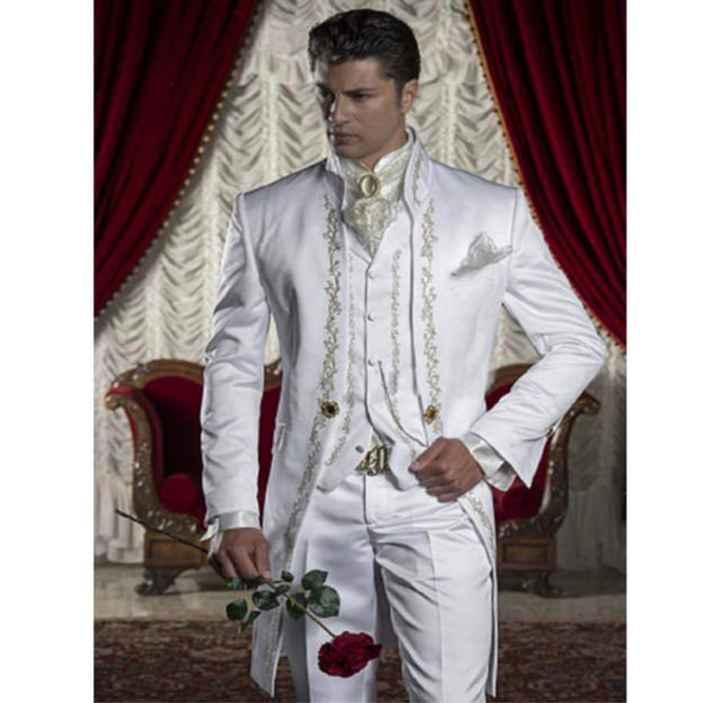 Le marié tout en blanc : oui ou non ? - 1