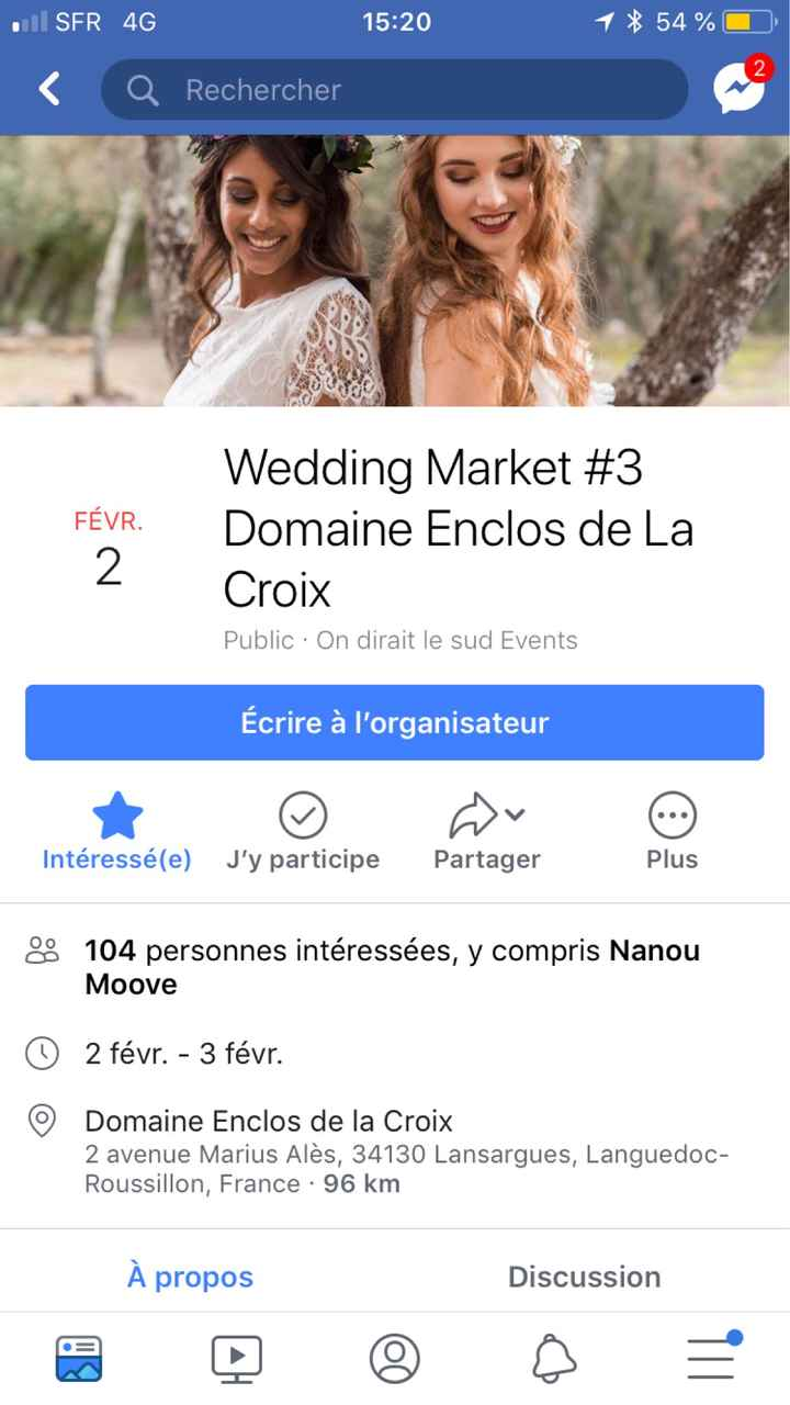 Date salon du mariage (gard/hérault) - 1