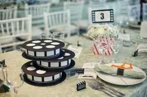 Idée ce centre table thème cinéma - 5