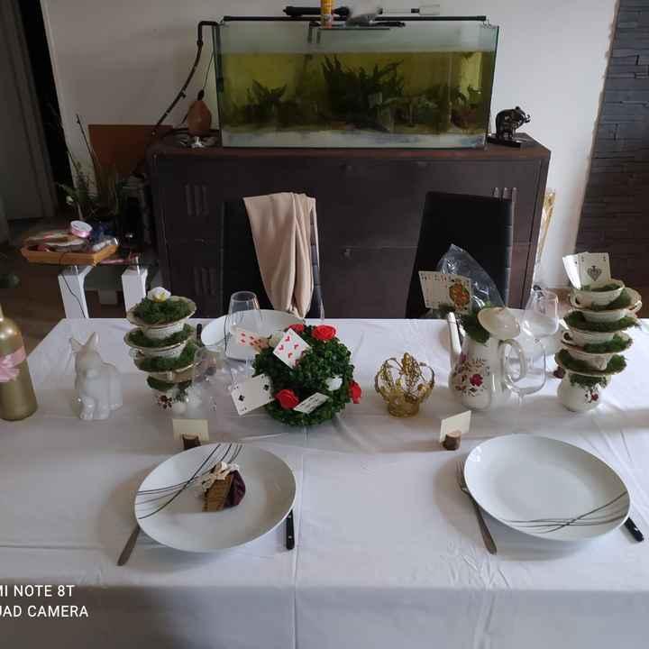 Essai table Alice - 2